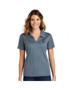 Sport-Tek Ladies Dri-Mesh V-Neck Polo
